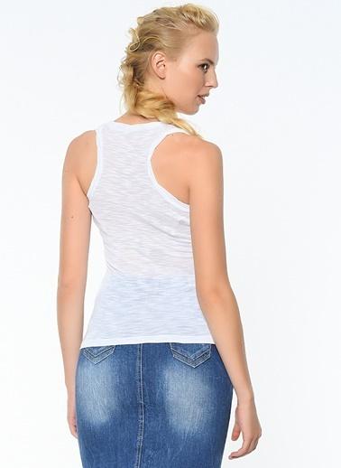 4G Bluz Beyaz